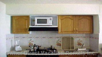 Furnished Kitchens with Full Size Appliances - Available in all the Units - May Not be Exactly as Shown