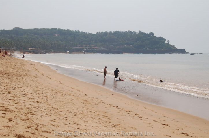 Beautiful Candolim Beach