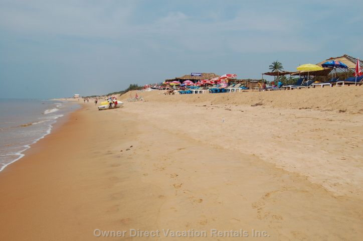 Inviting Candolim Beach