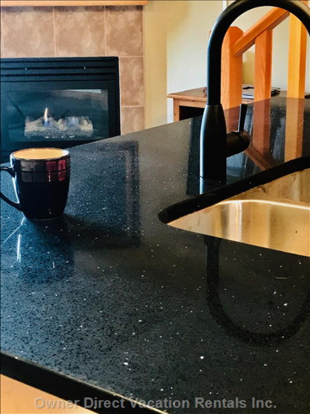 Brand New Granite on all Counters