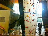 Rock Climbing at Elevation Place with-in Walking Distance