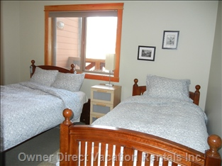 3rd Bedroom with Queen and Twin Bed