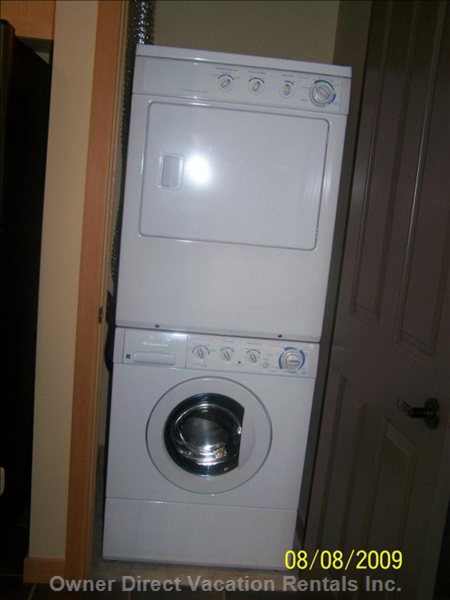 Washer and Dryer - Similar to, but May Not be Shown