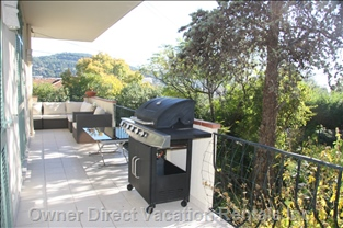 Balcony with Bbq & Sitting Area