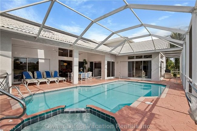 Jetted Spa & Large Heated Pool + Patio
