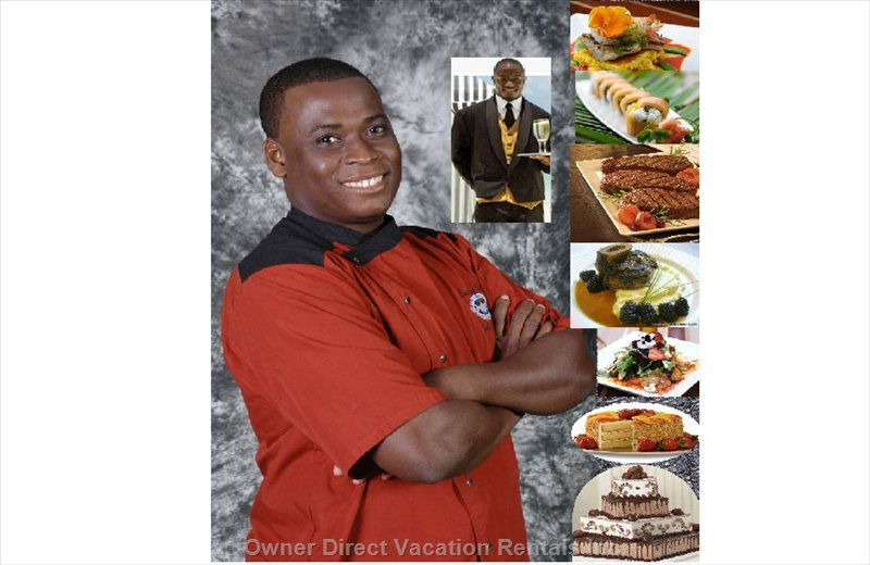 Chef J, our Private in House Chef, Will Prepare, Cook & Serve your Unforgettable Gourmet Dinner
