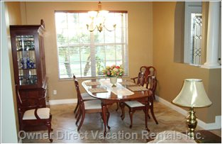 Dining Room - China, Table & Chairs
