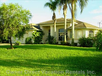 Cape Coral Luxury Waterfront Home