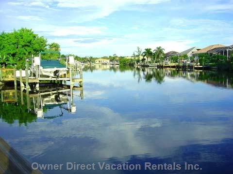 Waterfront Views with Access to the River and Gulf of Mexico