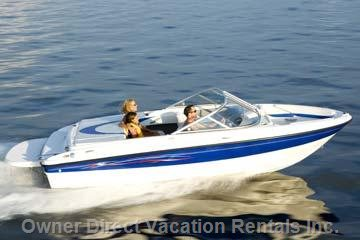 Boat Rentals Available from Nearby Marinas.