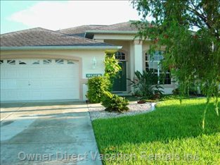 Cape Coral Florida, 'Gulf Access' Waterfront Home