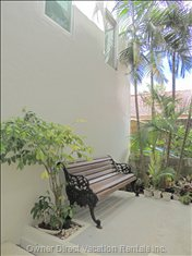 Inner Gardens around Davina Beach Homes Serviced Apartments