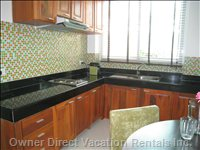 Equipped Kitchen for your Convenience - Similar to but May Not be Exact Unit.
