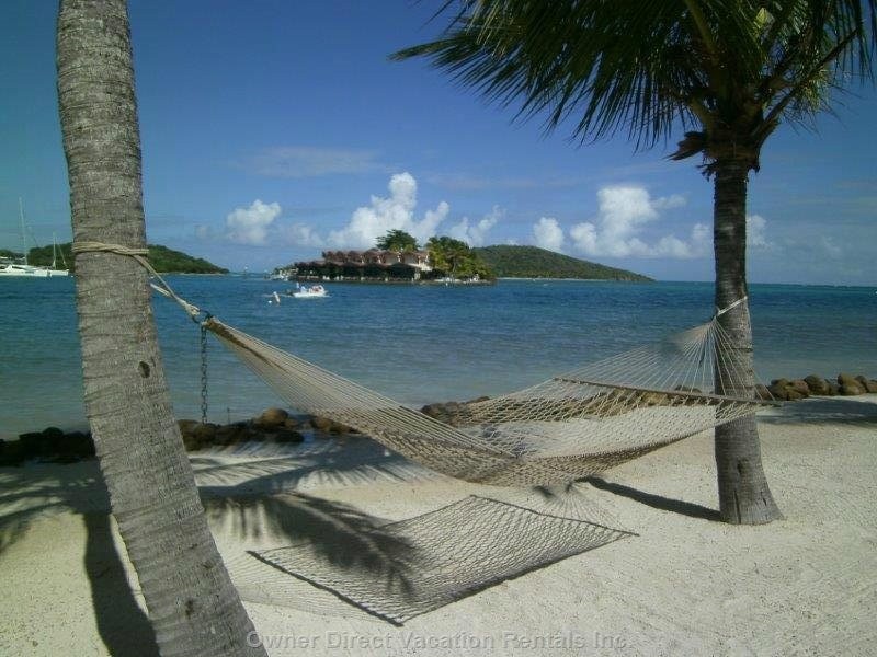 Relax on the Beach While Cruising British Virgin Islands.