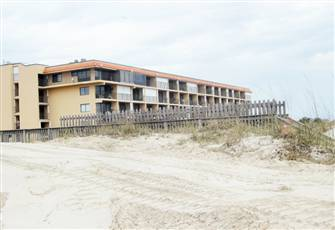 Oceanfront Condo with Balcony, Pool in Gated Complex Next to Boardwalk