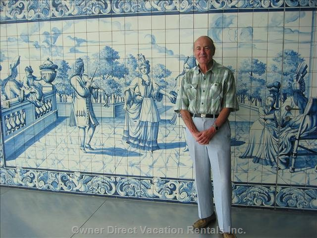 Traditional Portuguese Tile Background