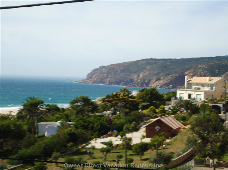 Guincho Beach from Bedroom Window