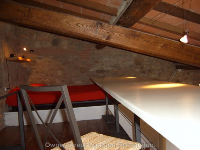 Upper Floor with Double Bed