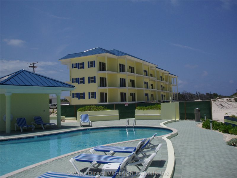 Our Building Next to the Pool - Maximum Privacy and Minimum Noise from other Units