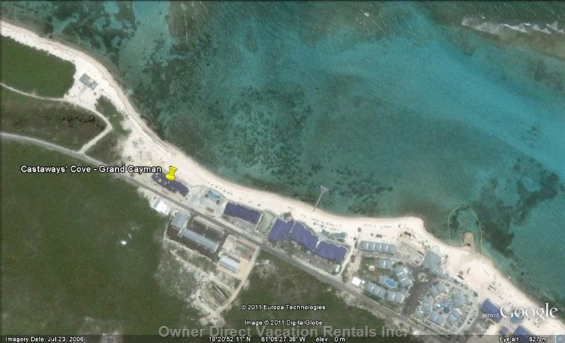 Shot of the Resort as Seen by Google Earth