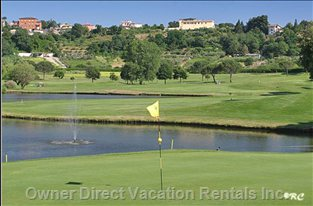 Castelgandolfo Golf Club. Club House and Property are at the Top of the Range