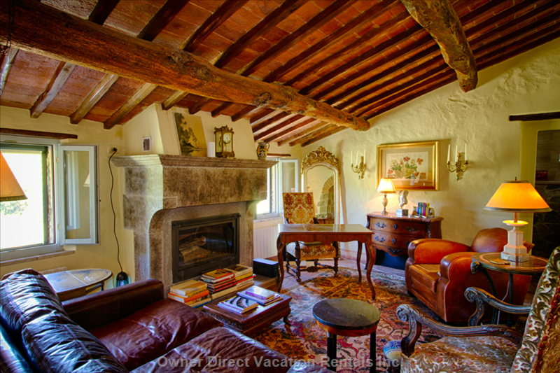 1500's stone farmhouse perfectly situated in the middle of olive groves and rolling Chianti classico vineyards, ID#206025