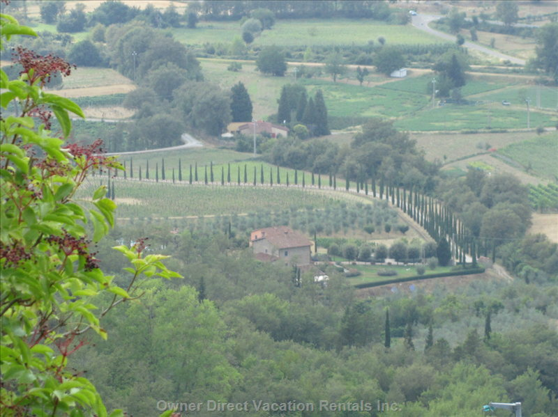 Views from IL Borgo Tranquilitta - you Do Not Need to Go Far to Enjoy Views of this Gorgeous Valley and Surrounding Bucolic Beauty. Just about Everywhere!