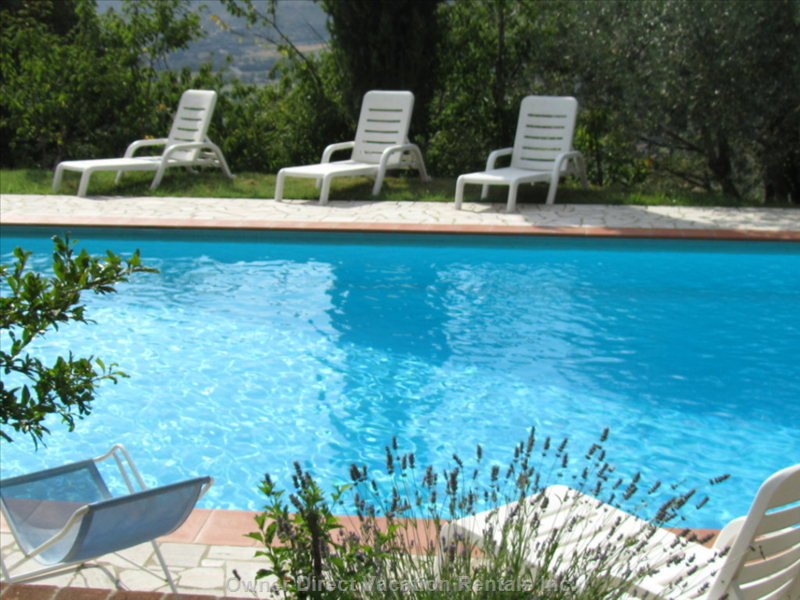 Pool Side - Relax, Unwind and Enjoy Tuscany.