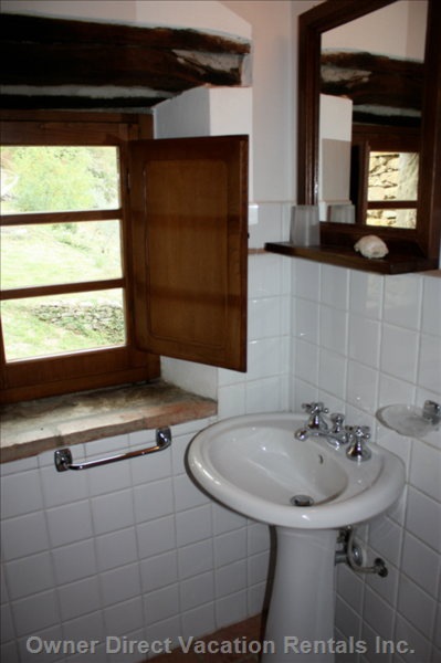 Bathroom - Bathrooms in each of the Cottages Have a Shower, Wash Stand, Bidet and Wc. Similar to but May Not be this Exact Unit.
