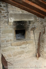 Perfect Pizza - There Are a Number of Bbqs around IL Borgo, However this is the Old Pizza Oven - Just Make (Or Buy) a Base and Select your Own Toppings!