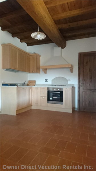 The Tuscan Style Kitchen