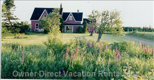 Beautifully Landscaped and Manicured Lawns - Located on Four Acres of Country Property, Adjacent to Island Nature Trust Land, Approximately one Quarter of a Mile from the Gorgeous Blooming Point Beach with White Sand Dunes, (over Ten Miles, in Length, and P.e.i'S Best Kept Secret).