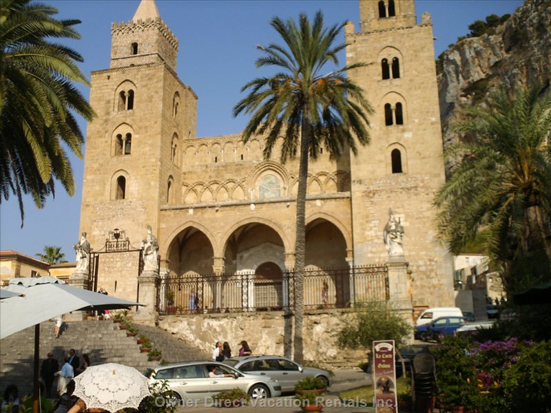 The Cathedral at 100m - Arab-normans Style Cathedral