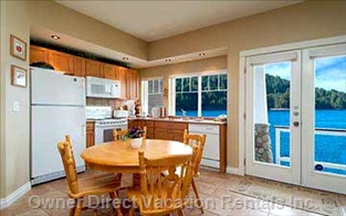 Dining / Kitchen.  Wow  !!! what a View  !!!