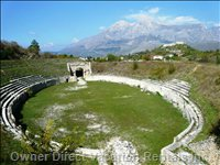 Alba Fucens, the Old Roman Ruins of Alba, Breathtaking