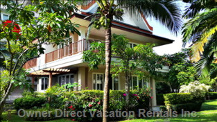 4 Bedroom Beach Villa Set in Lush Tropical Gardens
