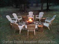 Fire Pit - Accommodates up to 12 Guess