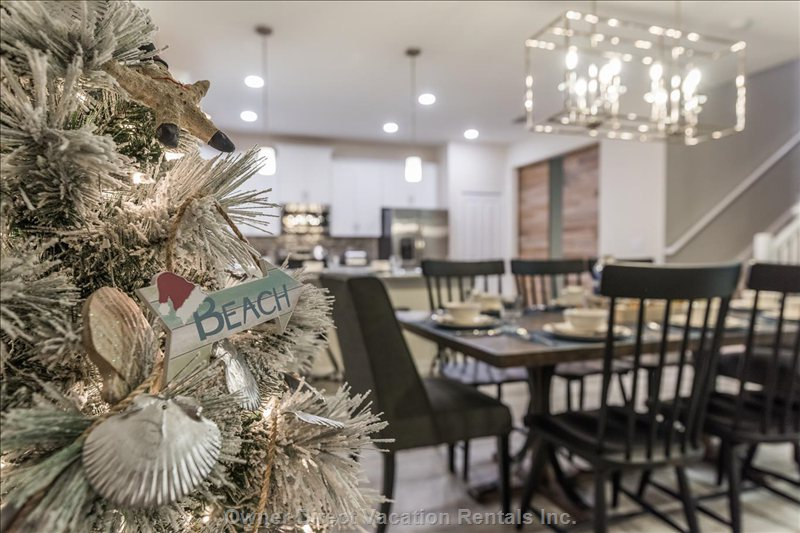Make Beautiful Christmas Memories at Sun Gathering House!