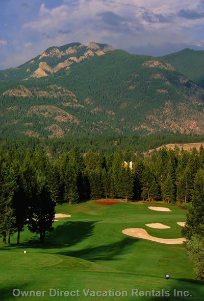 Radium has so many Amazing Golf Resorts to Choose from, You'll Never Run out of Courses to Choose from!