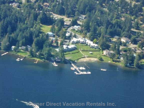 View of Shawnigan Beach Resort