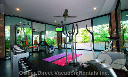Detached Fitness Room