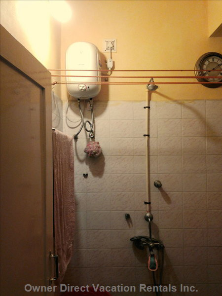 Bathroom with Water Heater