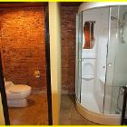 Shower - the Compound Offers Accommodation in Eight Bungalows with En Suites, this is one of the 8 Bathrooms.