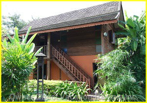 Thai Wooden House