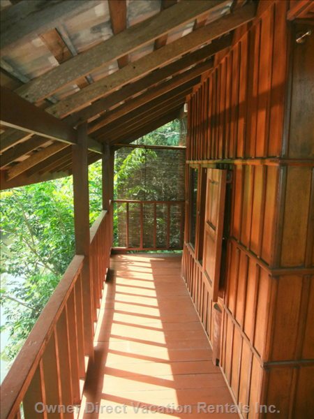 Veranda of 3rd Floor