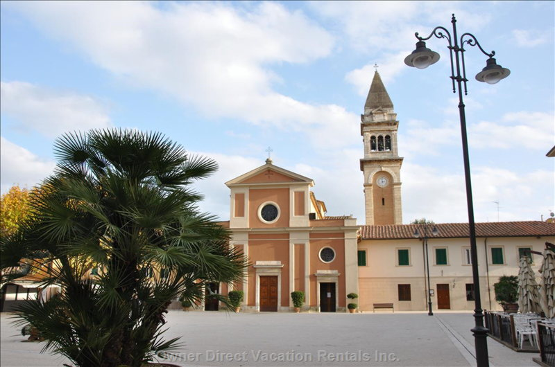 The Spa Town of Casciana Terme