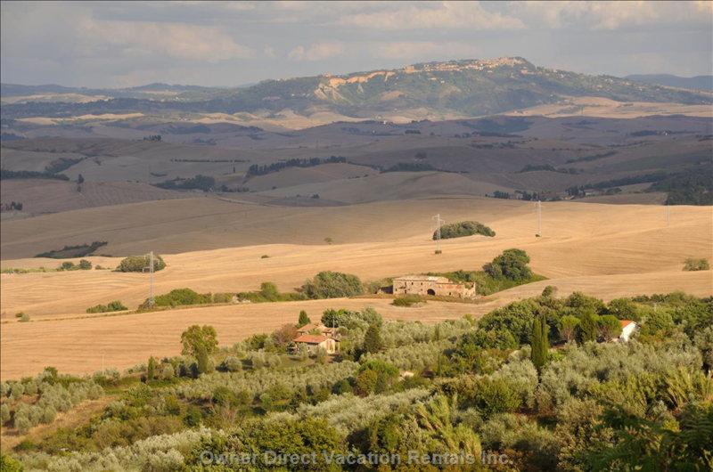 View of Volterra in High Summer