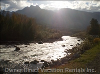 Chilliwack River Less than a 5 Minute Walk Away! - Chilliwack River with Fishing, Rafting, Kayaking.