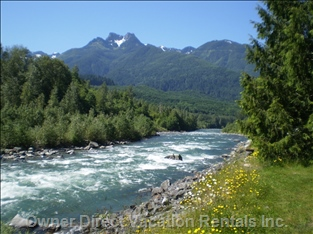 Chilliwack River - Nearly Waterfront on the Chilliwack River, as it is Only a 5 Minute Walk Away!