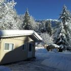 Winter Snowfall at our Chilliwack River Cabin
